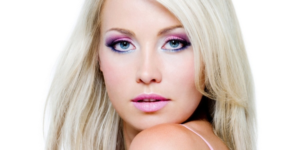 макияж блондинки