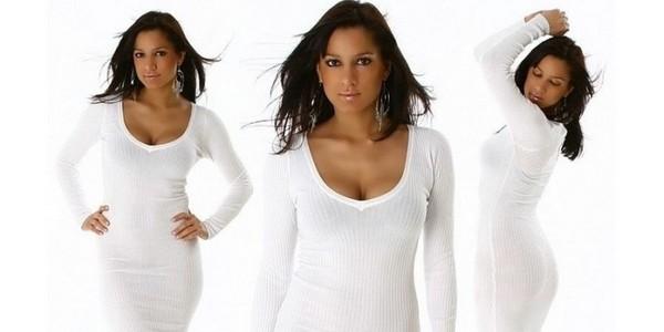 Белый стиль одежды