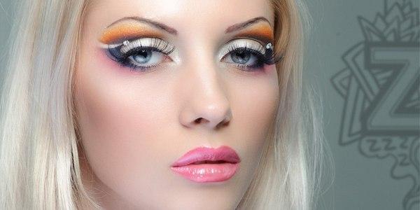 Подиумный макияж