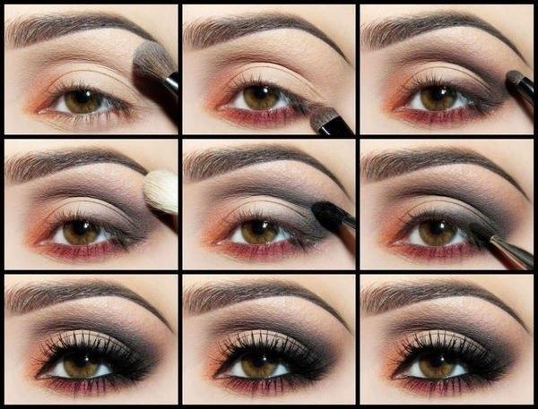 Уроки макияжа на глаза для начинающих в