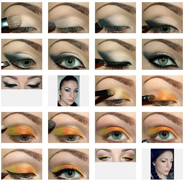 Как делать макияж пошагово