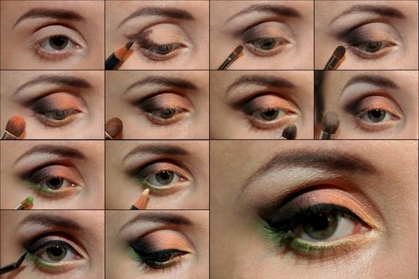 Как сделать макияж глаз начинающим