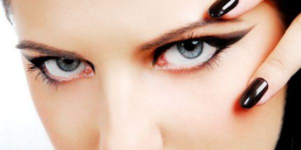 оформление глаз