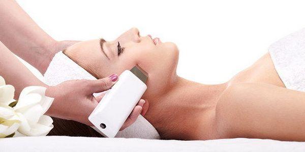 ультразвуковая очистка кожи