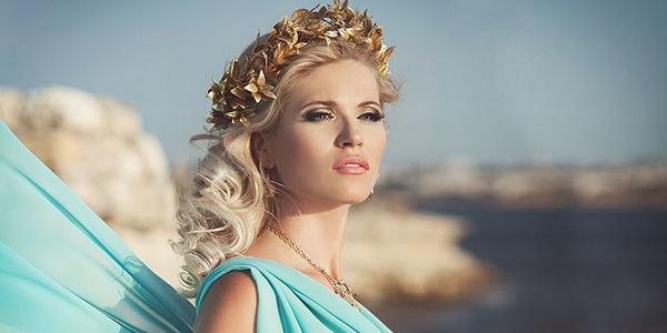 Свадебный макияж греческом стиле 74