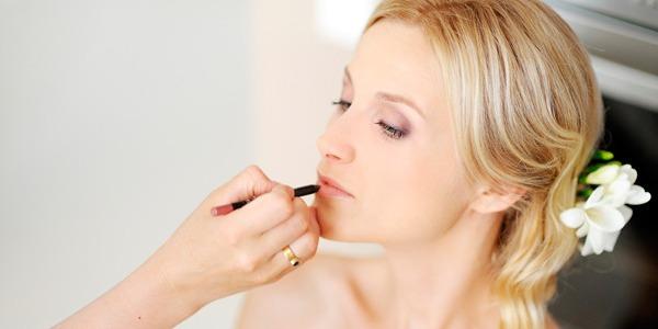 Свадебный макияж губ