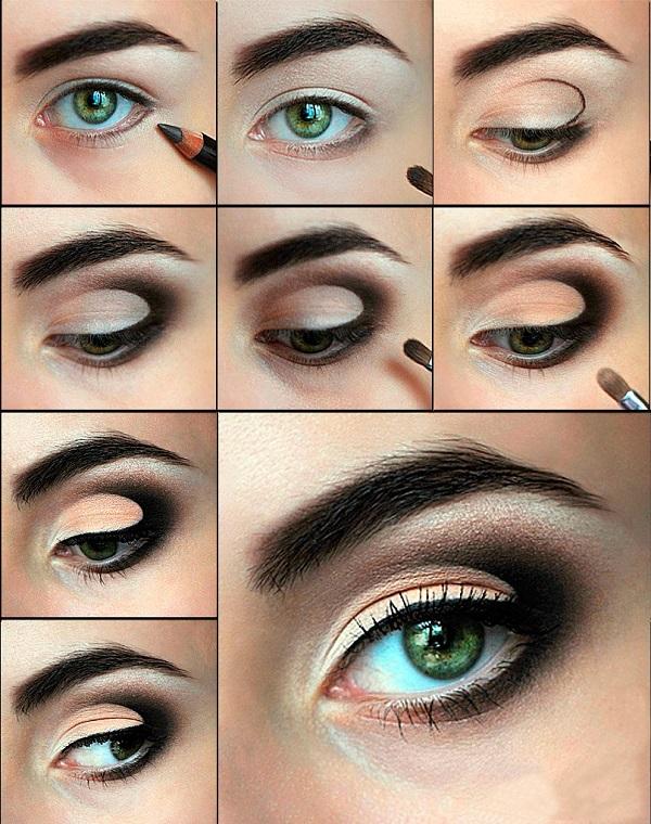 Как сделать красивый макияж для зеленых глаз пошагово - Extride.ru
