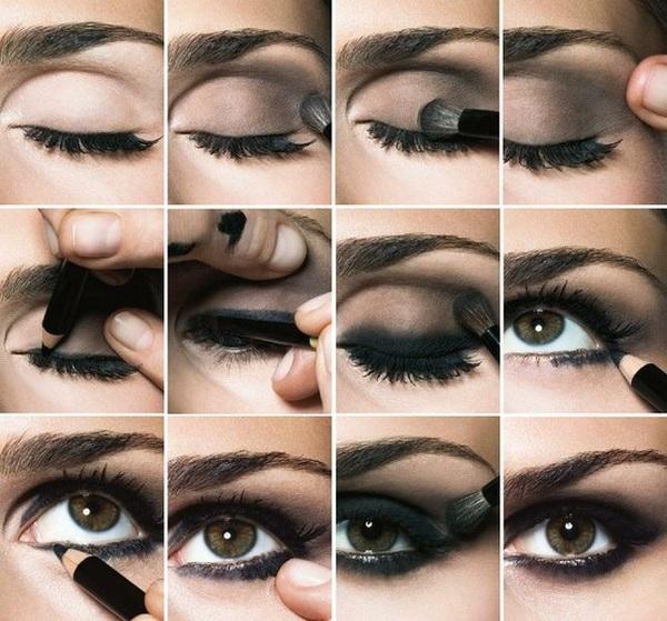 Пошаговые инструкции как делать макияж