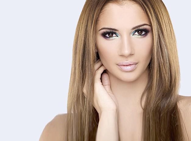 Каким цветом красить волосы если глаза карие