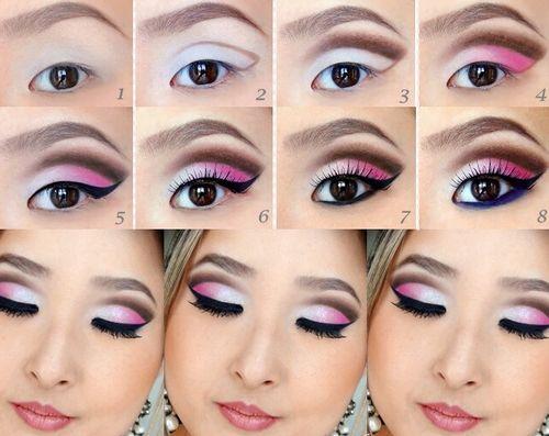 пошаговый японский макияж