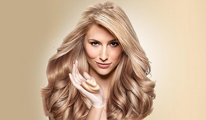 волосы - бежевый блондин